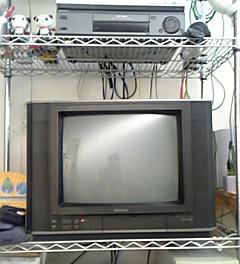 前のテレビ