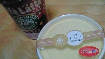 コーヒーも甘め
