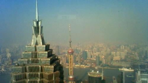 上海ビル群