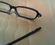 メガネ破損